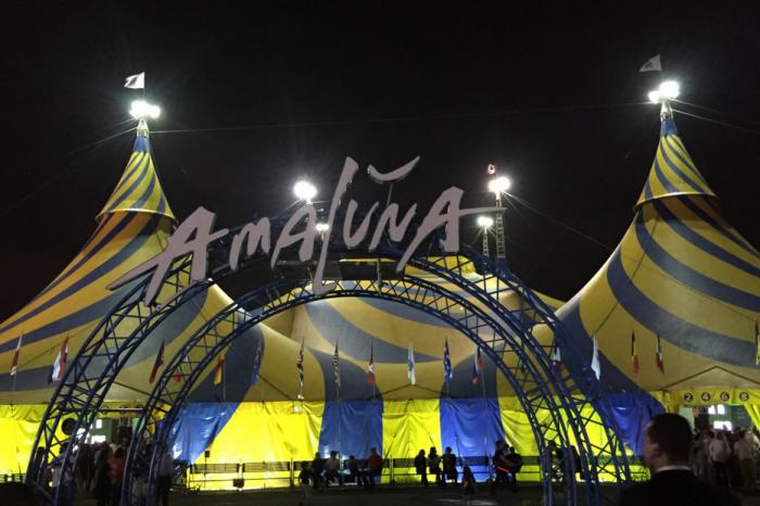 Amaluna movimenta a noite carioca!