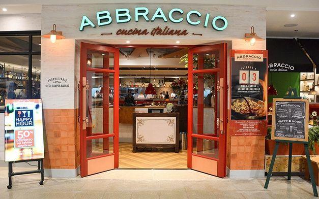 Abraccio, o Carabba's versão brasileira!
