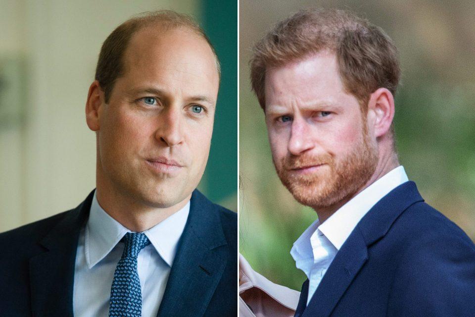"""Pesquisa aponta que britânicos apoiam William na """"batalha""""contra Harry!"""