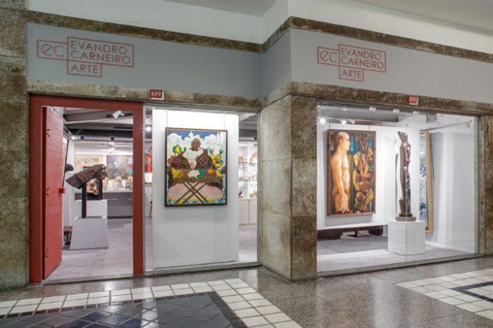 Evandro Carneiro inaugura sua galeria de arte!