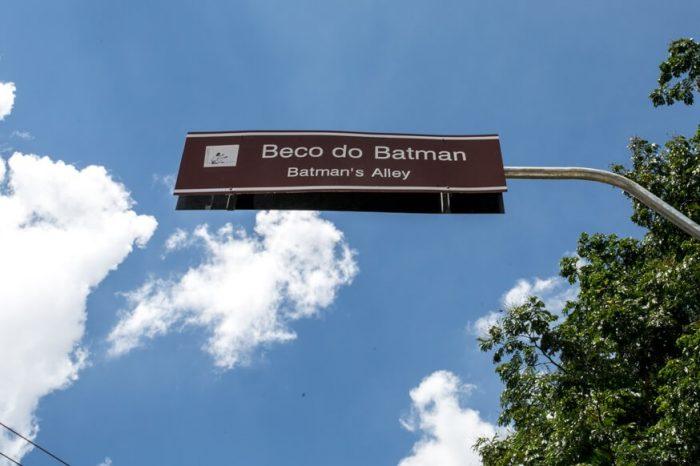 Beco do Batman: arte pelos muros de São Paulo!