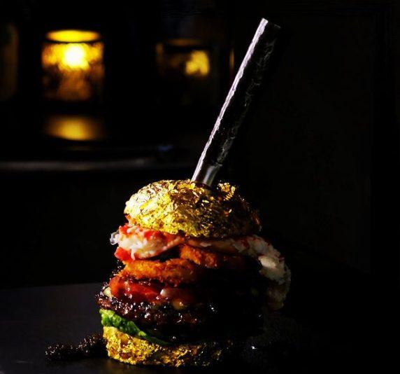Golden Boy: o hambúrguer mais caro do mundo pode ser seu por 5 mil euros!
