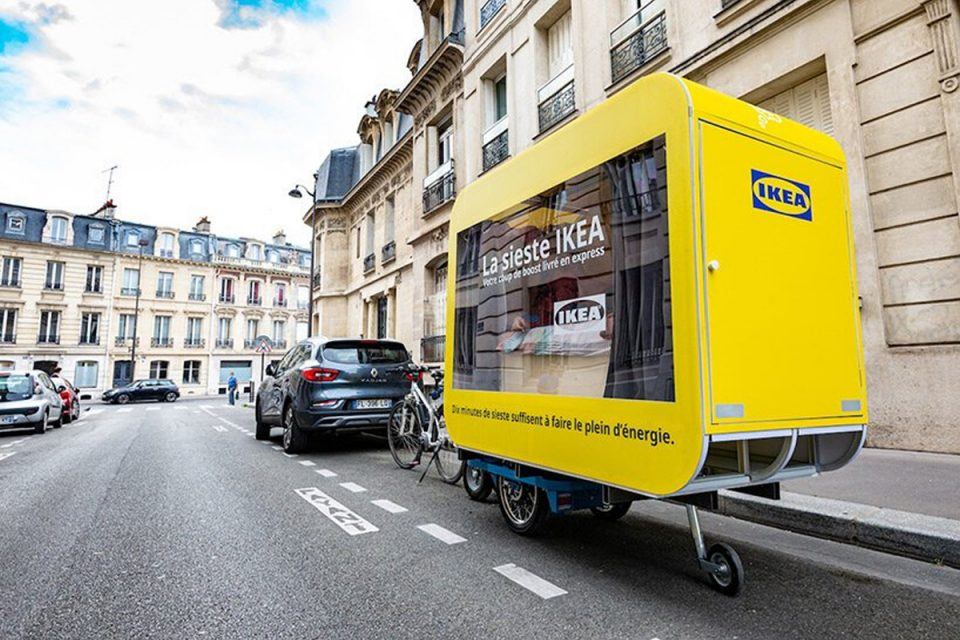 Cápsulas do cochilo: Ikea França lança carrinho para incentivar um bom descanso!
